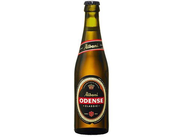Odense Pilsner Øl (330 ml / Flask)