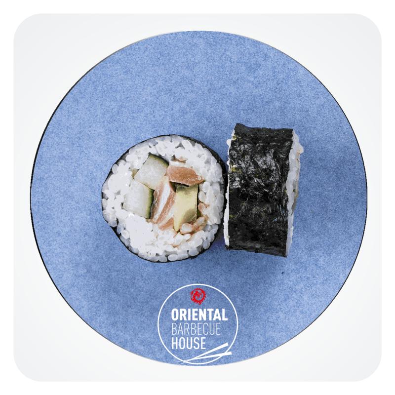 Futomaki Laks Spicy roll