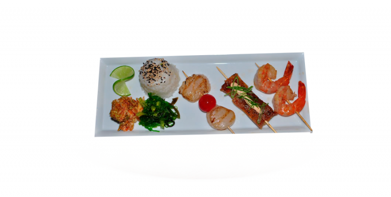 Seafood grillsticks
