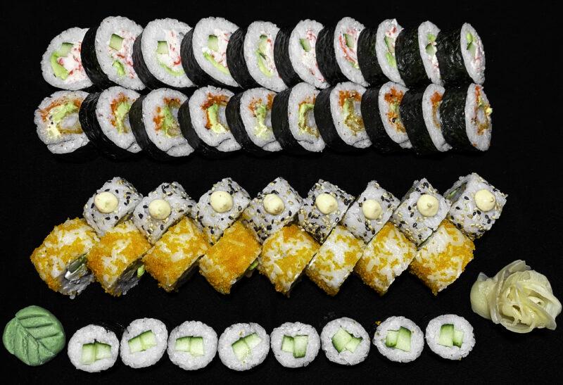 44 stk. sushi