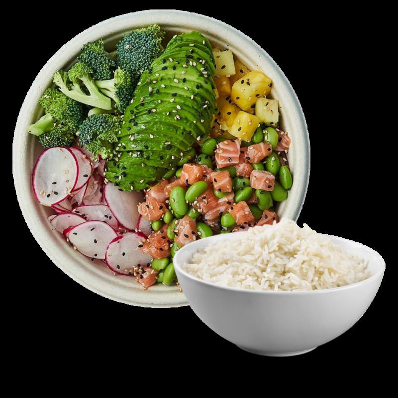 Poke Bowl med ris