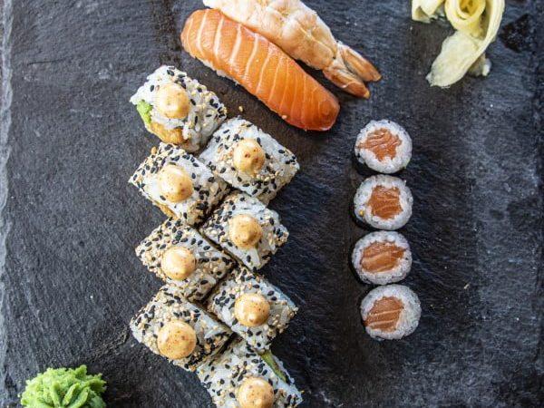 Takeaway Sushi Til En Person