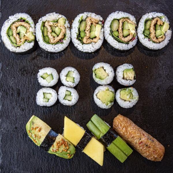 Vegetar menu